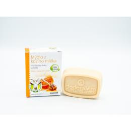 Hedera Vita mýdlo z kozího mléka – med a kakaové máslo