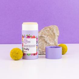 Kvitok přírodní deodorant SENSES - Fruity (papírový tubus)