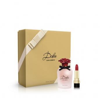 Dolce & Gabbana Dolce Rosa Excelsa EdP 50ml + Lipstick