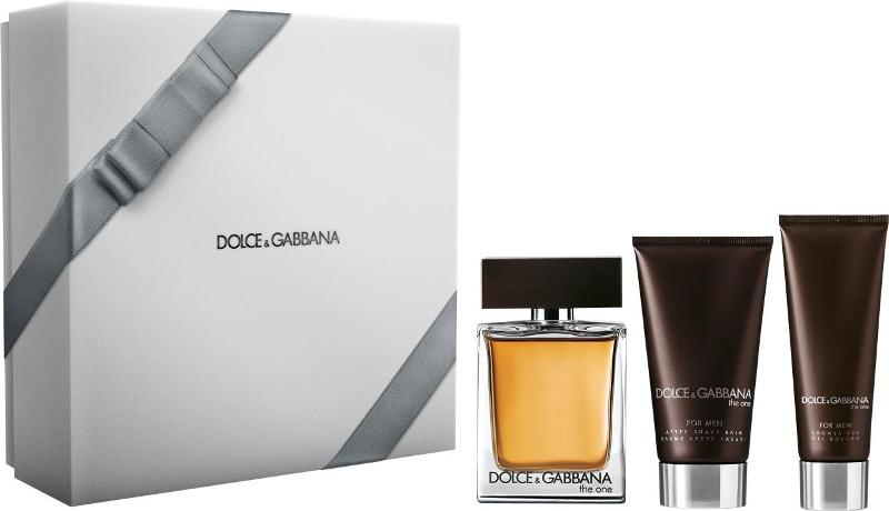 Dárková kazeta DG The One for Men Dolce & Gabbana The One for Men dárková kazeta (EdT 100ml+ASB 75ml+SG 50ml)