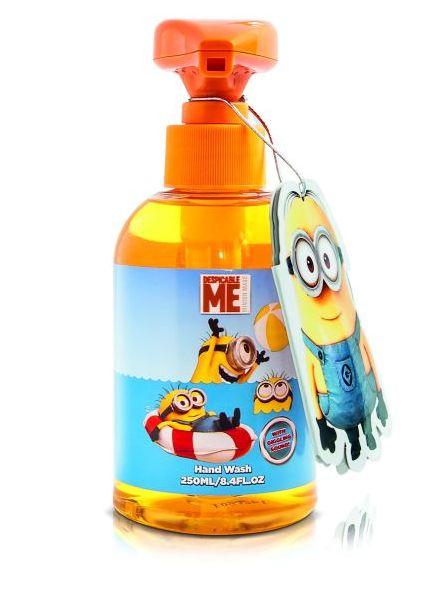 Mimoni z filmu - dětské tekuté mýdlo se zvuky Mimoňů 250ml