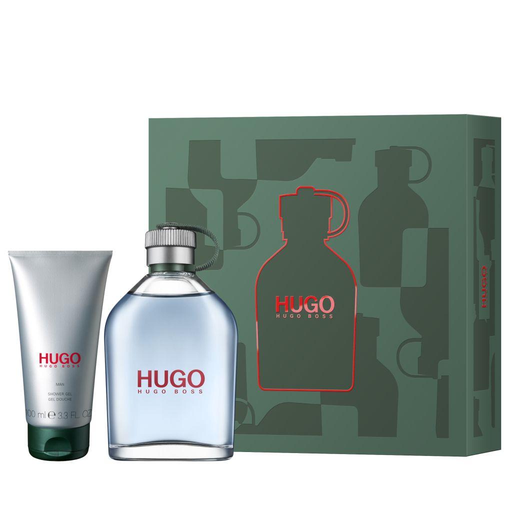 HUGO BOSS Hugo Dárková sada pánská toaletní voda 200 ml a sprchový gel Hugo 100 ml